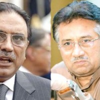Zardari and Musharraf