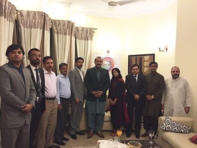 Bazm Riyadh Pakistan,Ceremony