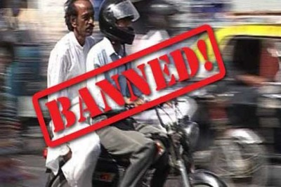 Double Riding Banned