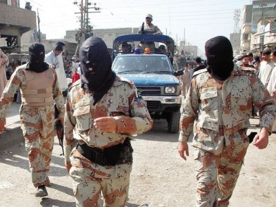 Forces Sindh Operation