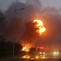 Fuel Tankers Fire