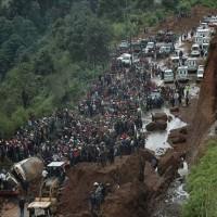 Guatemala Soil landslide
