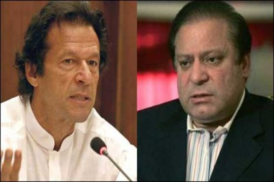 Imran Khan and Nawaz Sharif