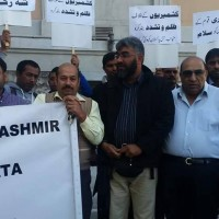 Indian Army Occupation Against Pakistanis Protest Demonstration (2)