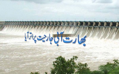 Indian Water Aggression