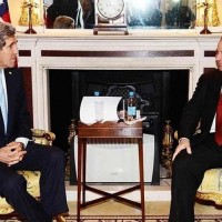 John Kerry and Nawaz Sharif