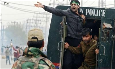 Kashmir  Arrested