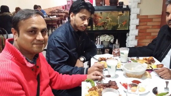 Khalid Bashir,Dinner Paris