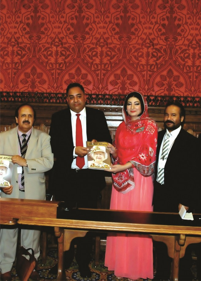 Miss Farah Azeem Shah Global Affairs Magazine Ceremony Marking Presented