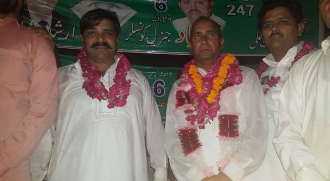 Mohammad Sajjad addressed Corner Meeting