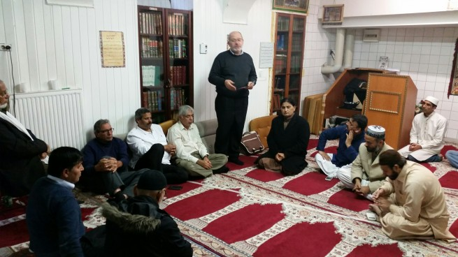 Mosque albilal Vienna Umaralravi Pakistanis Community Meeting