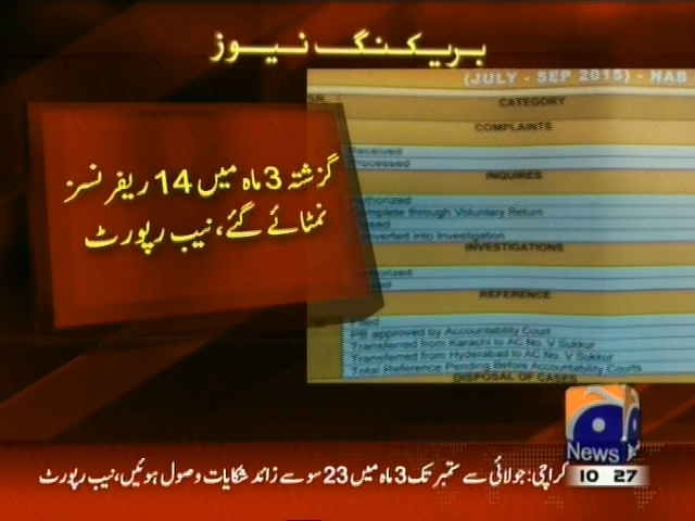 NAB Report– Breaking News – Geo