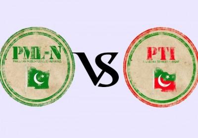 PTI vs PML N