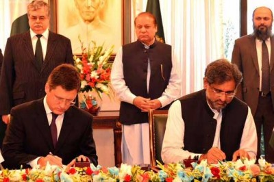 Pakistan, Russia Agreement