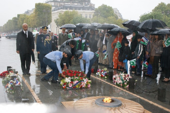 Pakistani Martyrs Tribute Ceremony Paris