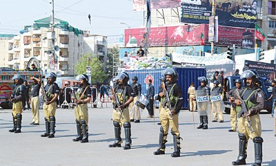 Police Security Plan