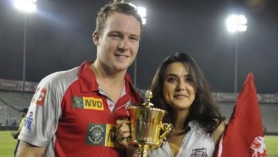 Preity Zinta And David Miller