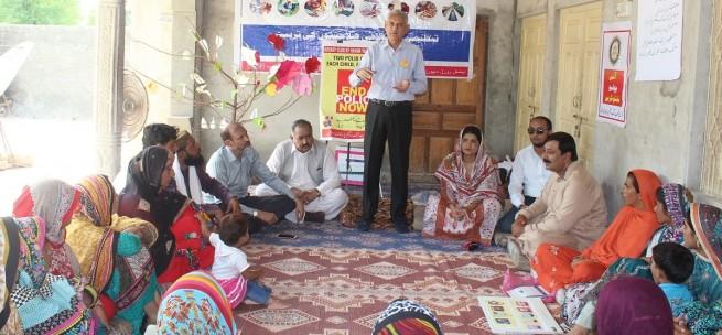 ROTARY Club, NRSP n LSO Organised a Polio Awareness Program