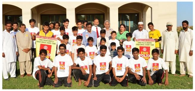 Rotary Polio Awareness Gymnastic Show