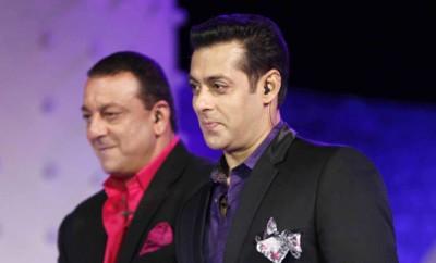 Salman and Sanjay Dutt