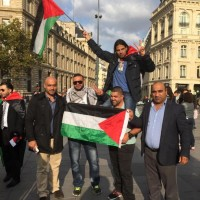 Shamroz Elahi Ghuman Palestine Support Rally France