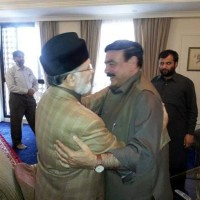 Sheikh Rashid and Tahirul Qadri