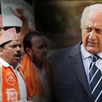 Shiv Sena Protest, Shahryar Khan