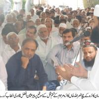 Usman Afzal Qadri,Speech