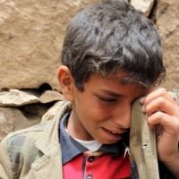 Yemeni Children Crying