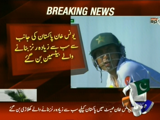Younis Khan– Breaking News – Geo