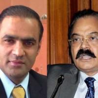 Abid Sher Ali and Rana Sanaullah