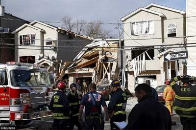 America, Gas Leakage Explosion