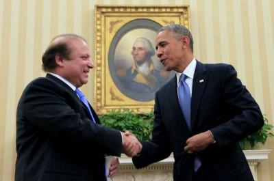 Barack Obama Meets Nawaz Sharif