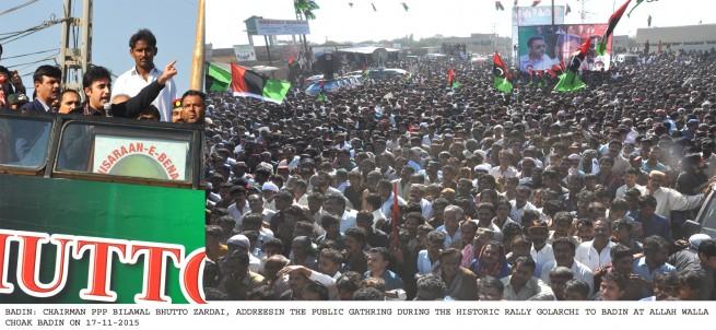 Bilawal Bhutto Badin Dura