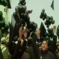 Black Balloons Left