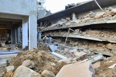 Building Collapse Faulty Material