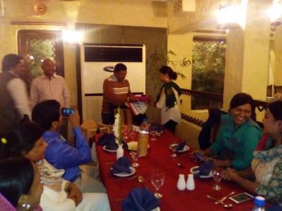 Claas Staff Dinner