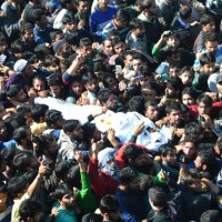 Commander Abu Qasim Funeral