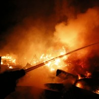 Cotton Factory Fire