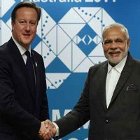 David Cameron and Narendra Modi