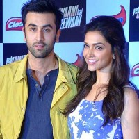 Deepika and Ranbir Kapoor