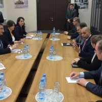 EP Delegation with Geirgia Officials