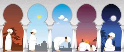 Five Daily Islamic Prayers