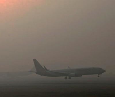 Fog Aircraft Landing