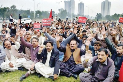 Government Employees Protest