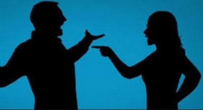Husband and Wife Quarrel