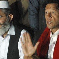Imran Khan and Siraj ul Haq