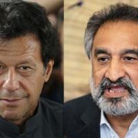 Imran Khan and Zulfiqar Mirza