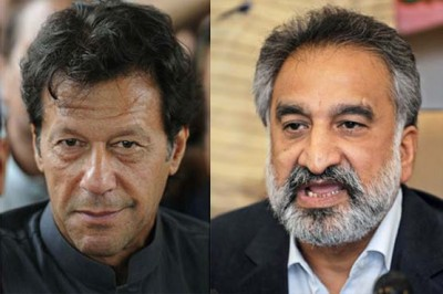 Imran Khan and Zulfiqar Mirza