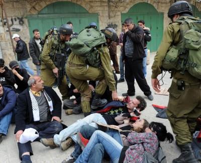 Israeli Soldiers in Palestine